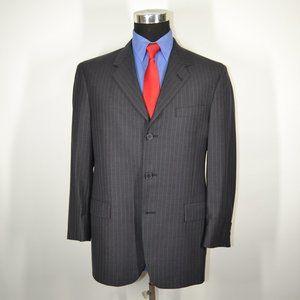 Kenneth Cole 40S Sport Coat Blazer Suit Jacket Gra